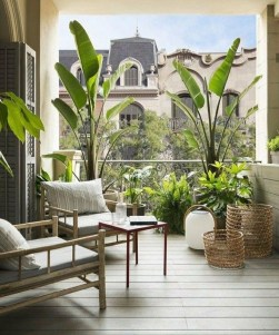 Comfy Balcony Design Ideas To Try Right Now 05