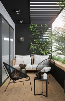 Comfy Balcony Design Ideas To Try Right Now 06