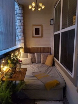 Comfy Balcony Design Ideas To Try Right Now 17