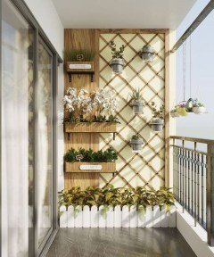 Comfy Balcony Design Ideas To Try Right Now 28