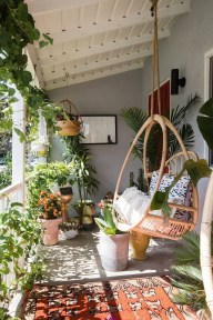 Comfy Balcony Design Ideas To Try Right Now 32