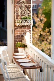 Comfy Balcony Design Ideas To Try Right Now 47