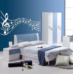 Cozy Bedroom Design Ideas With Music Themed That Everyone Will Like It 02