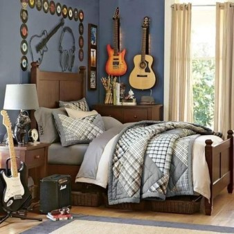 Cozy Bedroom Design Ideas With Music Themed That Everyone Will Like It 19