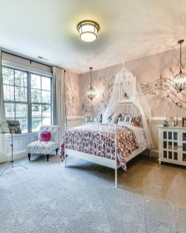 Cozy Bedroom Design Ideas With Music Themed That Everyone Will Like It 37