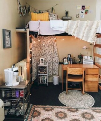 Cozy Dorm Room Design Ideas That Looks More Awesome 06