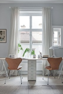 Delicate Two Seat Workspace Design Ideas To Try Right Now 04