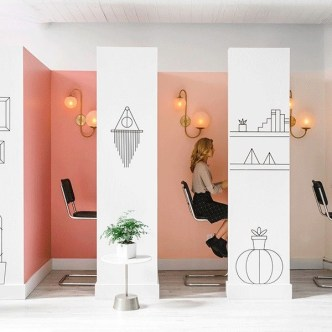 Delicate Two Seat Workspace Design Ideas To Try Right Now 18