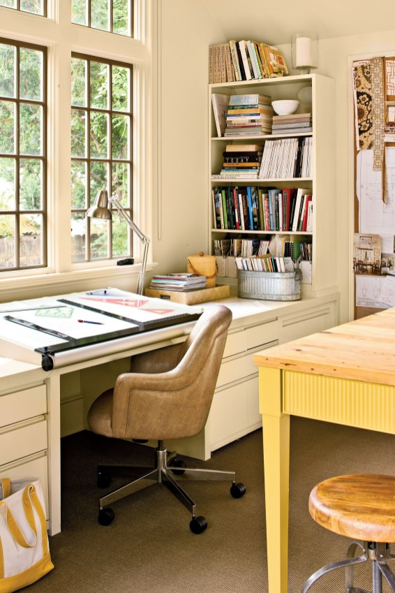 Delicate Two Seat Workspace Design Ideas To Try Right Now 37