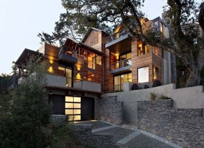 Graceful Mill Valley Residence Design Ideas With Openness Space To Have 35