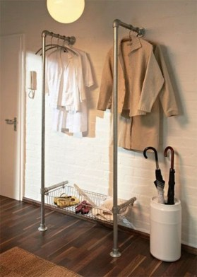 Modern Clothing Racks Design Ideas For Narrow Space To Try Asap 08