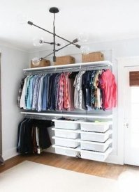 Modern Clothing Racks Design Ideas For Narrow Space To Try Asap 14