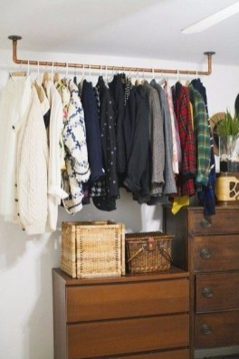 Modern Clothing Racks Design Ideas For Narrow Space To Try Asap 17