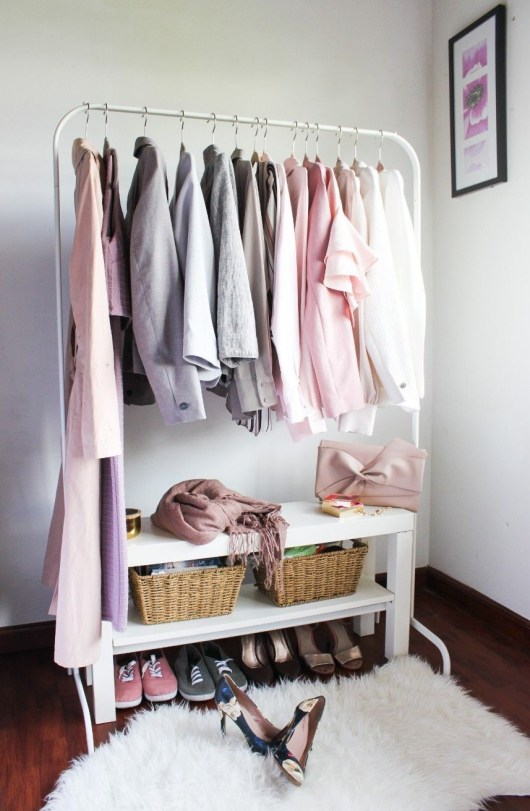 Modern Clothing Racks Design Ideas For Narrow Space To Try Asap 33