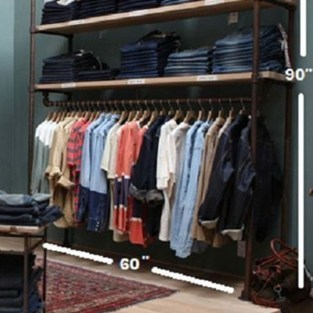 Modern Clothing Racks Design Ideas For Narrow Space To Try Asap 34