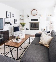 Modern White Apartment Design Ideas To Try Right Now 13