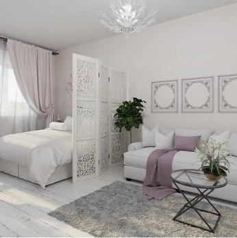 Modern White Apartment Design Ideas To Try Right Now 34
