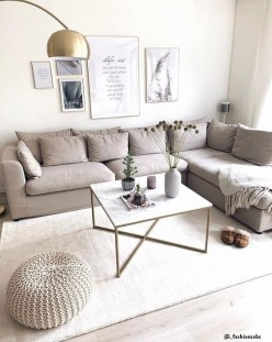 Modern White Apartment Design Ideas To Try Right Now 46