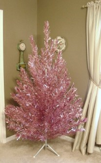 Pretty Pink Winter Tree Decorating Ideas That Looks So Awesome 19