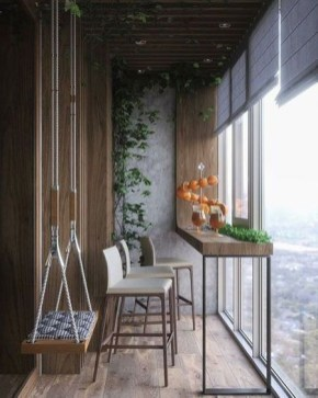 Relaxing Covered Balcony Design Ideas To Try In Apartment 34