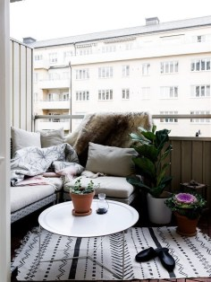 Relaxing Covered Balcony Design Ideas To Try In Apartment 39