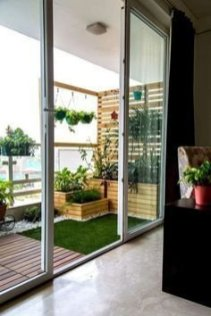 Relaxing Covered Balcony Design Ideas To Try In Apartment 49
