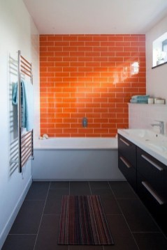Top Fresh Orange Bathroom Design Ideas To Try Asap 09