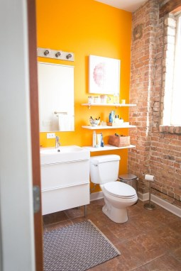 Top Fresh Orange Bathroom Design Ideas To Try Asap 17