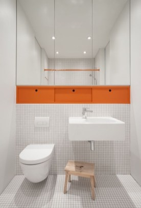 Top Fresh Orange Bathroom Design Ideas To Try Asap 24
