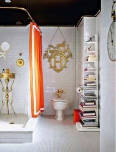 Top Fresh Orange Bathroom Design Ideas To Try Asap 29