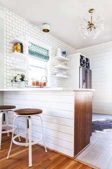 Wonderful Small House Renovations Design Ideas That Have A Stylish Wood Furniture 11