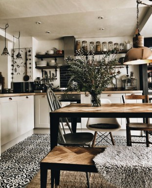 Wonderful Small House Renovations Design Ideas That Have A Stylish Wood Furniture 36