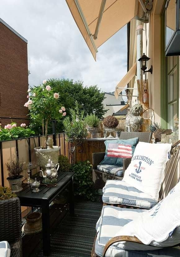 Amazing Classical Terrace Design Ideas To Try This Spring 18