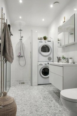 Astonishing Small Laundry Room Design Ideas For Organization To Try 07