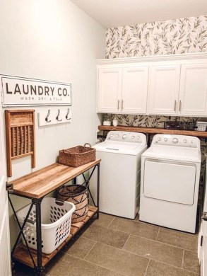 Astonishing Small Laundry Room Design Ideas For Organization To Try 08