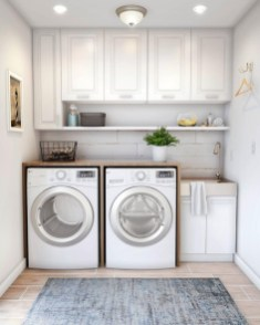 Astonishing Small Laundry Room Design Ideas For Organization To Try 10