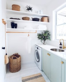 Astonishing Small Laundry Room Design Ideas For Organization To Try 50