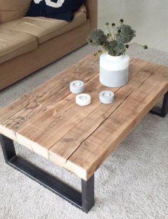 Awesome Diy Coffee Table Design Ideas With Cheap Material 02