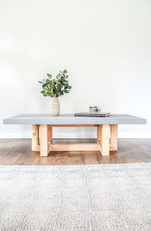 Awesome Diy Coffee Table Design Ideas With Cheap Material 38