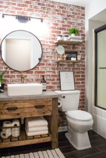 Brilliant Bathroom Wall Décor Ideas That Will Awesome Your Home 12