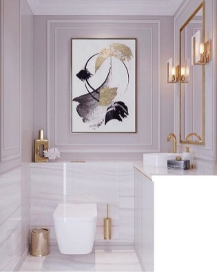 Brilliant Bathroom Wall Décor Ideas That Will Awesome Your Home 15