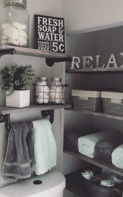 Brilliant Bathroom Wall Décor Ideas That Will Awesome Your Home 18