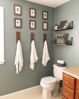 Brilliant Bathroom Wall Décor Ideas That Will Awesome Your Home 23