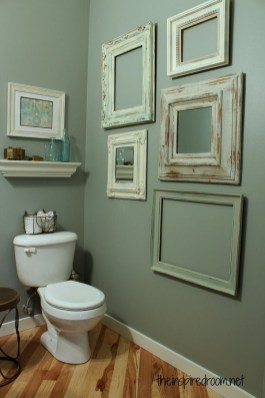 Brilliant Bathroom Wall Décor Ideas That Will Awesome Your Home 24