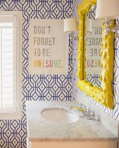 Brilliant Bathroom Wall Décor Ideas That Will Awesome Your Home 28