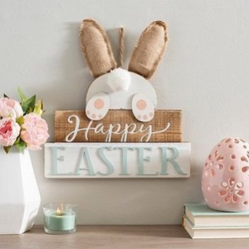 Charming Easter Wall Decoration Ideas That Inspire You Today 44