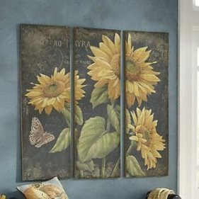 Cool Wood Sunflower Wall Decor Ideas That You Need To Try 07