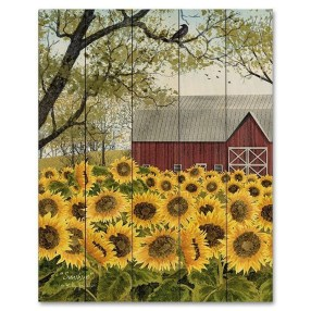 Cool Wood Sunflower Wall Decor Ideas That You Need To Try 11