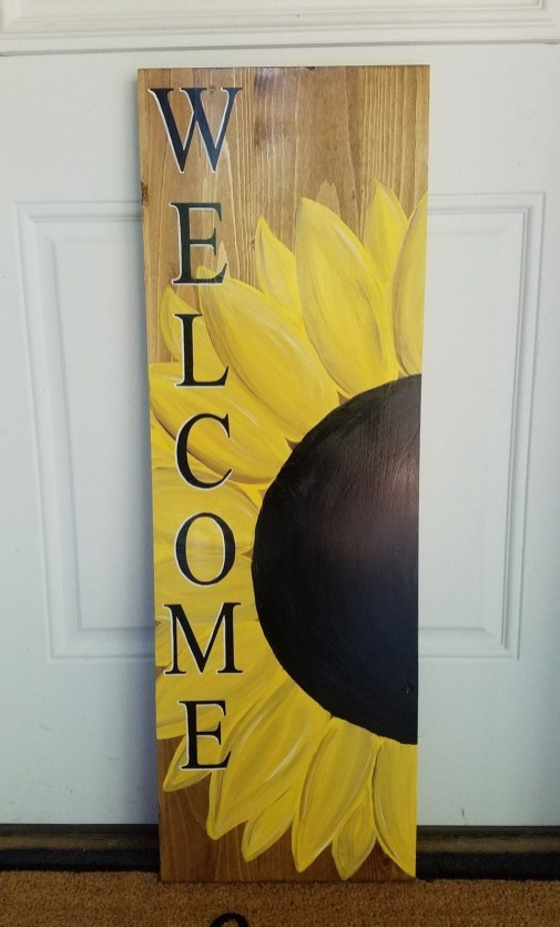 Cool Wood Sunflower Wall Decor Ideas That You Need To Try 45
