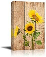 Cool Wood Sunflower Wall Decor Ideas That You Need To Try 48